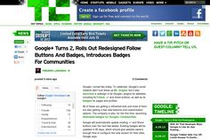 http://techcrunch.com/2013/06/28/google-turns-2-rolls-out-redesigned-follow-buttons-and-badges-introduces-badges-for-communities/ ... | #Indiegogo #fundraising http://igg.me/at/tn5/