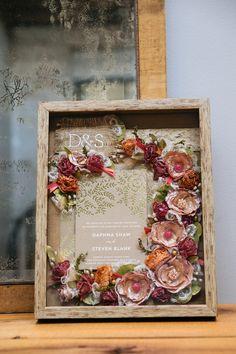 Wedding Bouquet Preservation - Box - I. Bouquet Shadow Box, Flower Shadow Box, Flower Boxes, Post Wedding, Diy Wedding, Wedding Gifts, Wedding Ideas, Floral Wedding, Wedding Bouquets