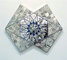 She's THE BEST for me the role model the idol and a pure genius / @Regrann from @iraniancontemporaryartists -  Monir Shahroudy Farmanfarmaian(Qazvin 1924)  Medium:  Paintings Glass Mirror reverse-glass painting plaster on wood Size: 54 x 108 cm #Regrann
