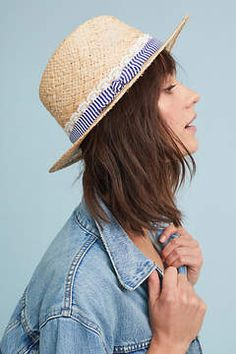 308b2aad33cb2d Shop for Seeberger Poppy Raffia Fedora at ShopStyle. Now for $113.30.  Cruise Wear,