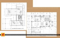 Biệt thự cổ điển Floor Plans, Diagram, Floor Plan Drawing, House Floor Plans