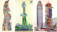 Archigram was a visionary architecture and design collaborative consisting of Warren Chalk, Peter Cook, Dennis Crompton, David Greene, Ron Herron, and Michael Webb. Next to ideas for gadgets like the Electronic Tomato, Archigram foresaw contemporary urban developments such as Capsule Homes, Extreme Suburbs, the Plug-In University or Computer City and reconfigurable megastractures. Partly outrageously creative, partly acutely critical, Archigram had the ideas for drive-in everything and…