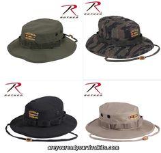 8e2791f41e3 Rothco Vietnam Veteran Boonie Hat