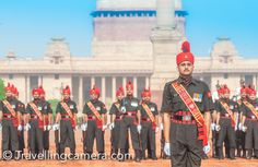 The elaborate 'Change of Guards' ceremony at Indian President's House, New Delhi