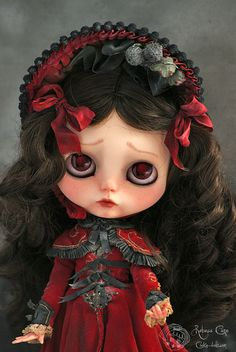Rose petals by Rebeca Cano ~ Cookie dolls ~   www.cookie-dolls.com