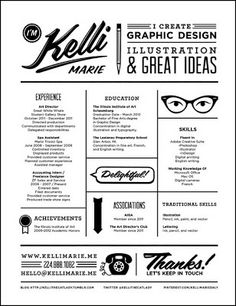 28 Amazing Examples of Cool and Creative Resumes/CV | Design ...