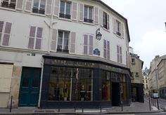Isabel Marant, rue de Saintonge, is housed by a former bakery.