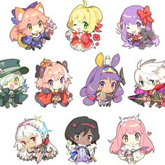 Kawaii Chibi, Anime Chibi, Kawaii Anime, Anime Art, Fate Zero, Otaku, Fate Stay Night Series, Story Characters, Disney Drawings