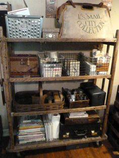 usa c 1930s vintage shoe factory industrial maple racks dowel and rh pinterest com Rustic Shoe Rack Rustic Shoe Rack & Antique Wire Shoe Racks - WIRE Center \u2022