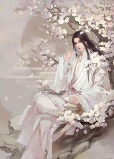 นิยาย รูปตัวละครจีนโบราณ > ตอนที่ 30 : หนุ่มจีนโบราณ/ผมดำ/หน้าสวย/ซากุระ/ชงชา : Dek-D.com - Writer