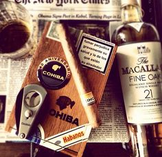Yes! Great shot..cuban cohiba & macallan 21. #BourgeoisCo approved.