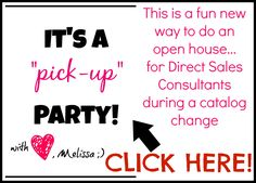 Open House idea for Direct Sales consultants Thirty One Party, My Thirty One, Thirty One Bags, Thirty One Gifts, 31 Gifts, Direct Sales Party, Direct Sales Tips, Direct Selling, Home Based Business