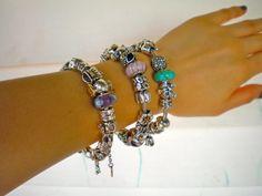 Three beautiful Pandora bracelets