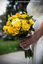 Flowers for the Bride - #yellow #wedding #flowers #bridal #bouquet #fall