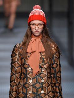 Striped wool bobble hat | Gucci | MATCHESFASHION.COM UK