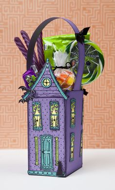 #DIY Halloween gift bag idea from #CTMH.