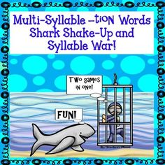 Shark Shake-Up is a very exciting game to help students learn to read…