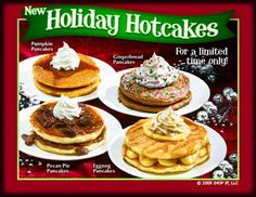 Yes lawd - still dream of the holiday hotcakes I had at Ihop some years back