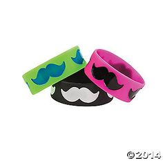 Mustache Silicone Big Bands