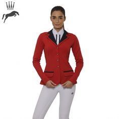 Spooks Show Jacket Queeny - Red/Navy, £195. Stand out from the crowd in eye-catching red.