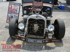Image detail for -... Scrapin The Smokies Truck Show Rusty Rat Rod Truck Front Photo 120