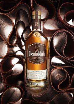 Glenfiddich brings single malts to life with beauty imagery | #Whiskey #Visual
