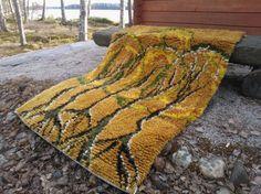 Ryijy Rya Rug, Point, Carpet, Blanket, Rugs, Crochet, Unique, Wall, Eggs