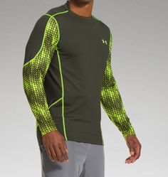 Men's UA ColdGear® Evo Fitted Hybrid Mock - Medium - **Note: This will go with the Under Armour Men's ColdGear EVO Printed Compression Leggings