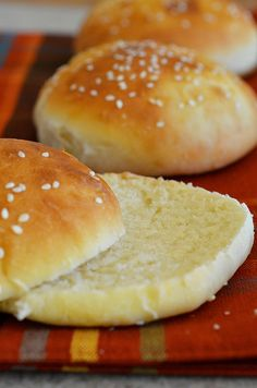 Burger Buns3 by Pennies on a Platter, via Flickr