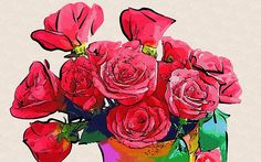 Pictures Of Flowers To Print by Michael Vicin #flowers #art #poster #gifts