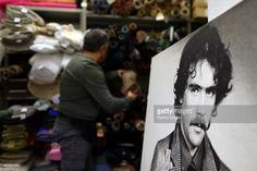 Fabrics for costumes at the Tirelli Atelier on February 20 2015 in... Foto di attualità | Getty Images