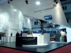 Quality espresso, Exhibition stand on Behance