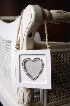 Cute Wooden Heart Frame