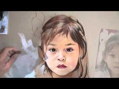 Making a Pastel portrait - YouTube