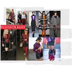 """""""On Trend: Plaid is back"""" by lechicbynadia on Polyvore"""