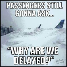 """Passengers.... Couldn't resist this one. Yes, we're talking about """"passenger logic!"""" That's why flying freight is so much nicer  (LOL )"""
