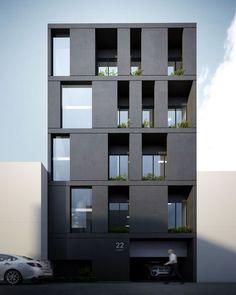 Building Facade 2716 #contemporaryarchitecture