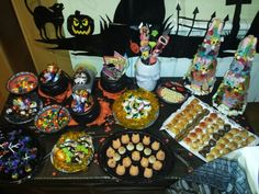 Halloween Party - Mesa dulce