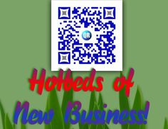 QR Codes create excitement and anticipation - Good energy around your business! (sample only)