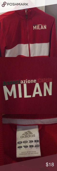 Adidas AC Milan training jacket Excellent condition men's training jacket with AC Milan logo adidas Jackets & Coats