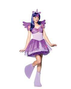 Twilight Sparkle Pony Adult Womens Costume - 323074   trendyhalloween.com #halloween #halloweencostumes #womenscostumes #legavenue #mylittlepony #twilightsparkle #mlp