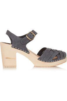 Funkis Suede sandals | NET-A-PORTER