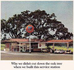 76 Gas Station Vintage