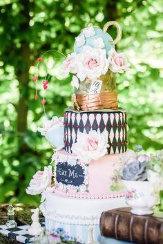 Alice im Wunderland: #Hochzeitstorte #WeddingCake