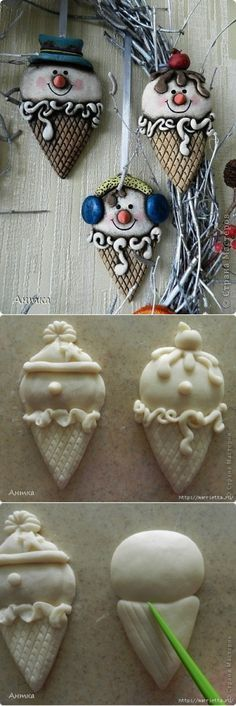 - Salzteig Rezepte The post appeared first on Salzteig Rezepte. Christmas Makes, Noel Christmas, Diy Christmas Ornaments, Holiday Crafts, Polymer Clay Ornaments, Polymer Clay Projects, Polymer Clay Crafts, Polymer Clay Christmas, Dry Clay