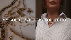 MY GOLD JEWELLERY COLLECTION   Mejuri, Bauble Bar, Ana Luisa & more  $-$$ Bauble, Gold Jewellery, Jewelry Collection, My Favorite Things, Gold Necklace, Fashion Tips, Fashion Trends, Bar, Womens Fashion