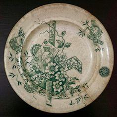 Prato da Fábrica de Alcântara - c. 1885 Dish from the portuguese Alcântara Factory - year 1885