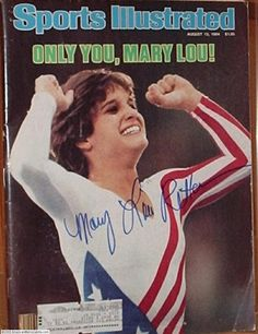Watched the 84 summer Olympics and squealed with delight when Mary Lou got all 10's!