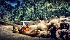 Rally Dust Cloud Hdr wallpaper free