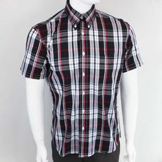 OiOi7 Vintage Button Down Shirt by Warrior Clothing- MOORE
